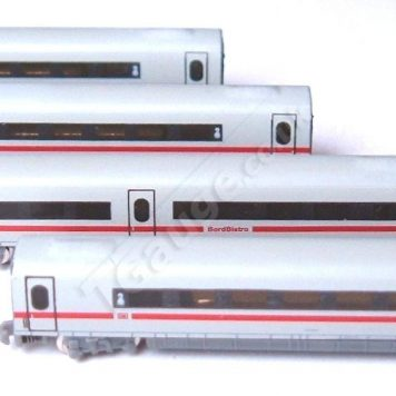 T Guage 039 ICE Carriage Set