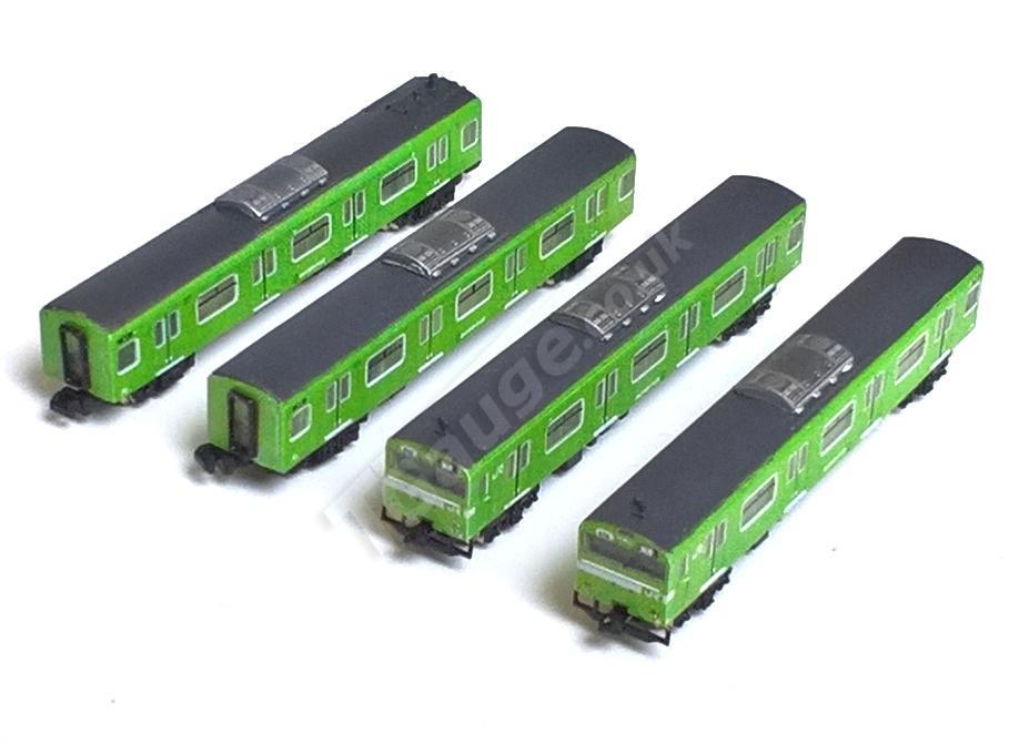 Green 103 4 Car Set
