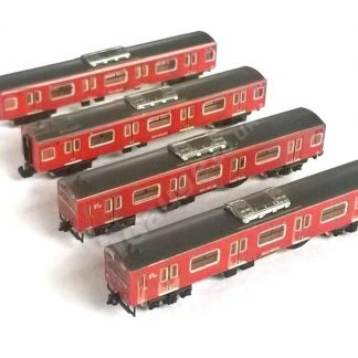 t gauge Orange 103 4 Car Set
