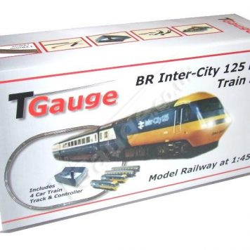 T Gauge BR Inter-City 125 HST Starter Set w/120mm Loop Track