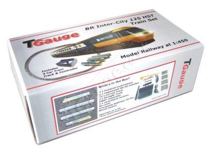 T gauge R-041/125 BR Inter-City 125 HST Train Set