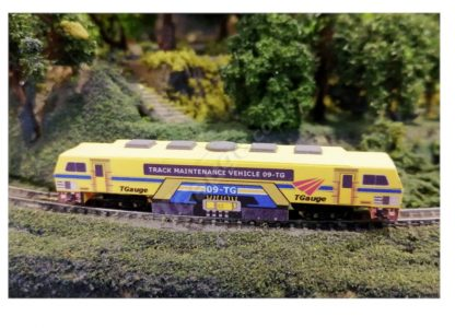 T Gauge 1:450 Scale Track Maintenance Vehicle 09-TG Yellow