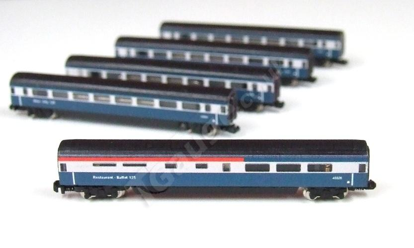 T Gauge HST Inter City 125 Additional 5 Car Set