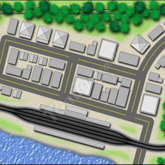 Causeway Track Plan T Gauge