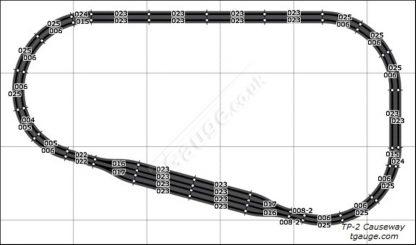 T Gauge Causeway Track Plan