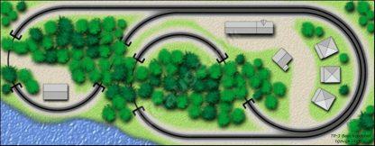 Beachcomber T Gauge Track Plan