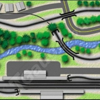 T Gauge Station Inn Track Plan
