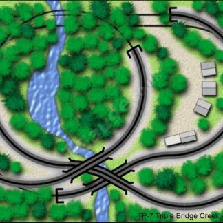 T gauge TP-7 Triple Bridge Creek Track Plans