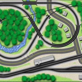 T gauge TP-8 Countryman Track Plan