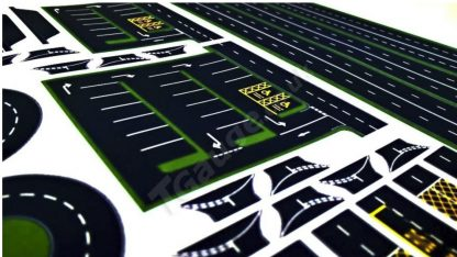 T Gauge Road decals and stickers