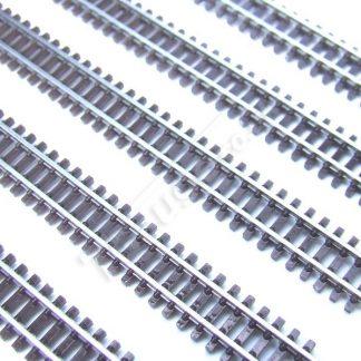 T gauge Brown Flexi Track 200mm R-020