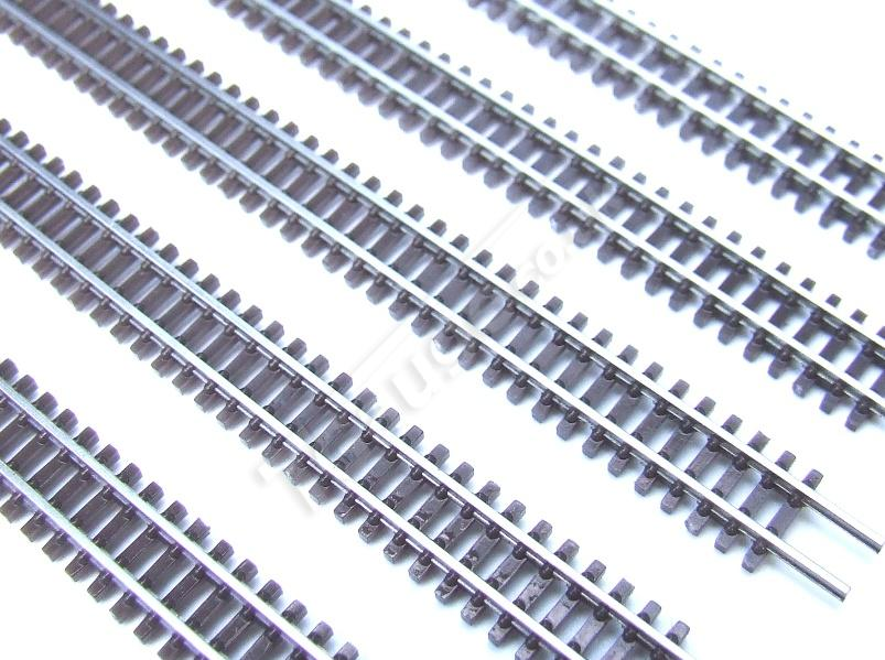 T Gauge 1:450 Scale FlexiTrack in Brown 200mm Pack of 5, R-020