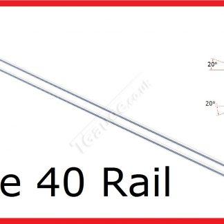 T Gauge 2 Lengths Code 40 Steel Rail R-402