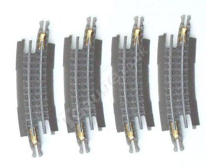 T gauge Curved Track R-013 – 4 Pack
