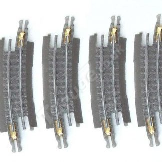 T gauge Curved Track R-015 – 4 Pack
