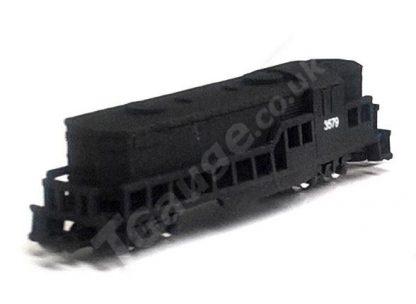T gauge EMD GP8 Loco in Black