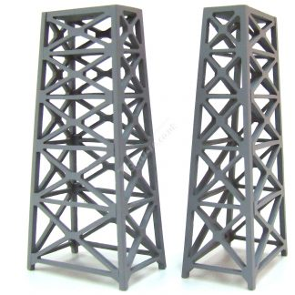 T Gauge Girder Support Set of Piers