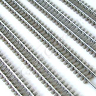 T gauge Grey Flexi 200mm Lengths