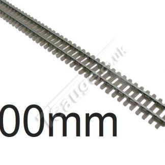 T gauge Grey Flexi Track 500mm