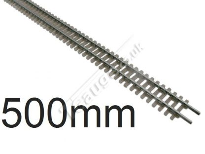 T gauge Grey Flexi Track 500mm