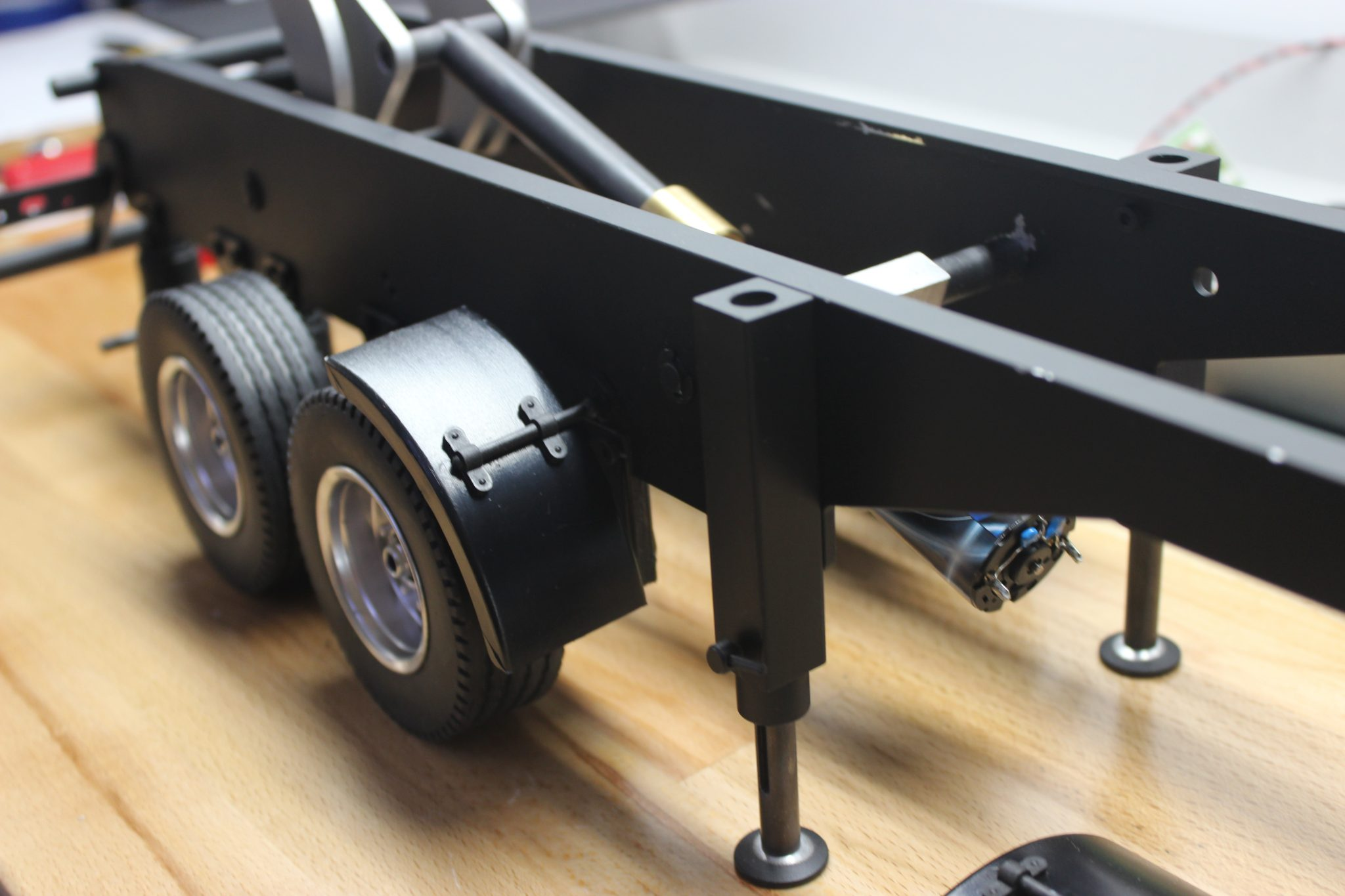 VcsHobbies Custom Model build 1/14 Carson 3 Axle Dumper