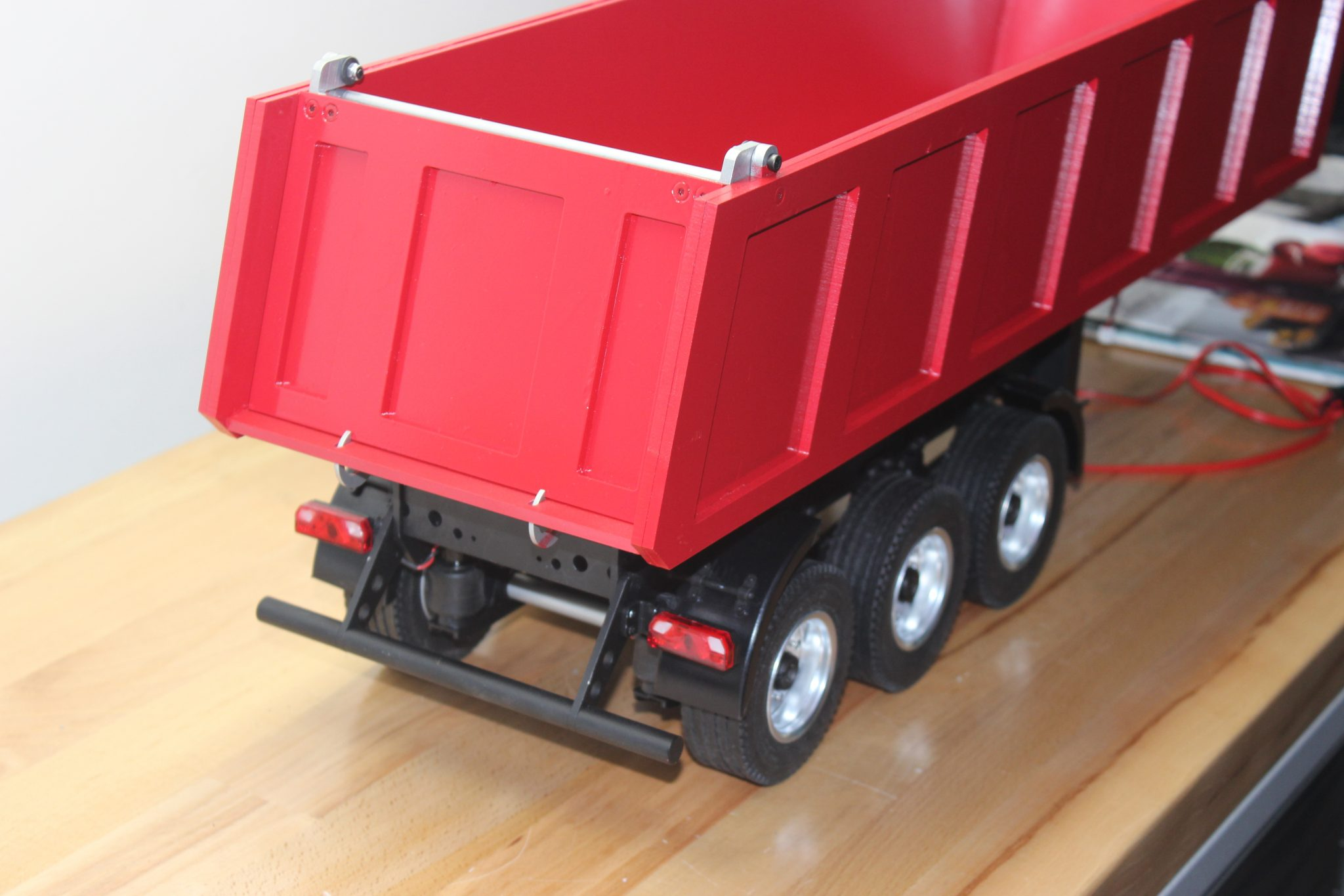 VCS Hobbies 1/14 Carson 3 Axle Dumper Custom Build