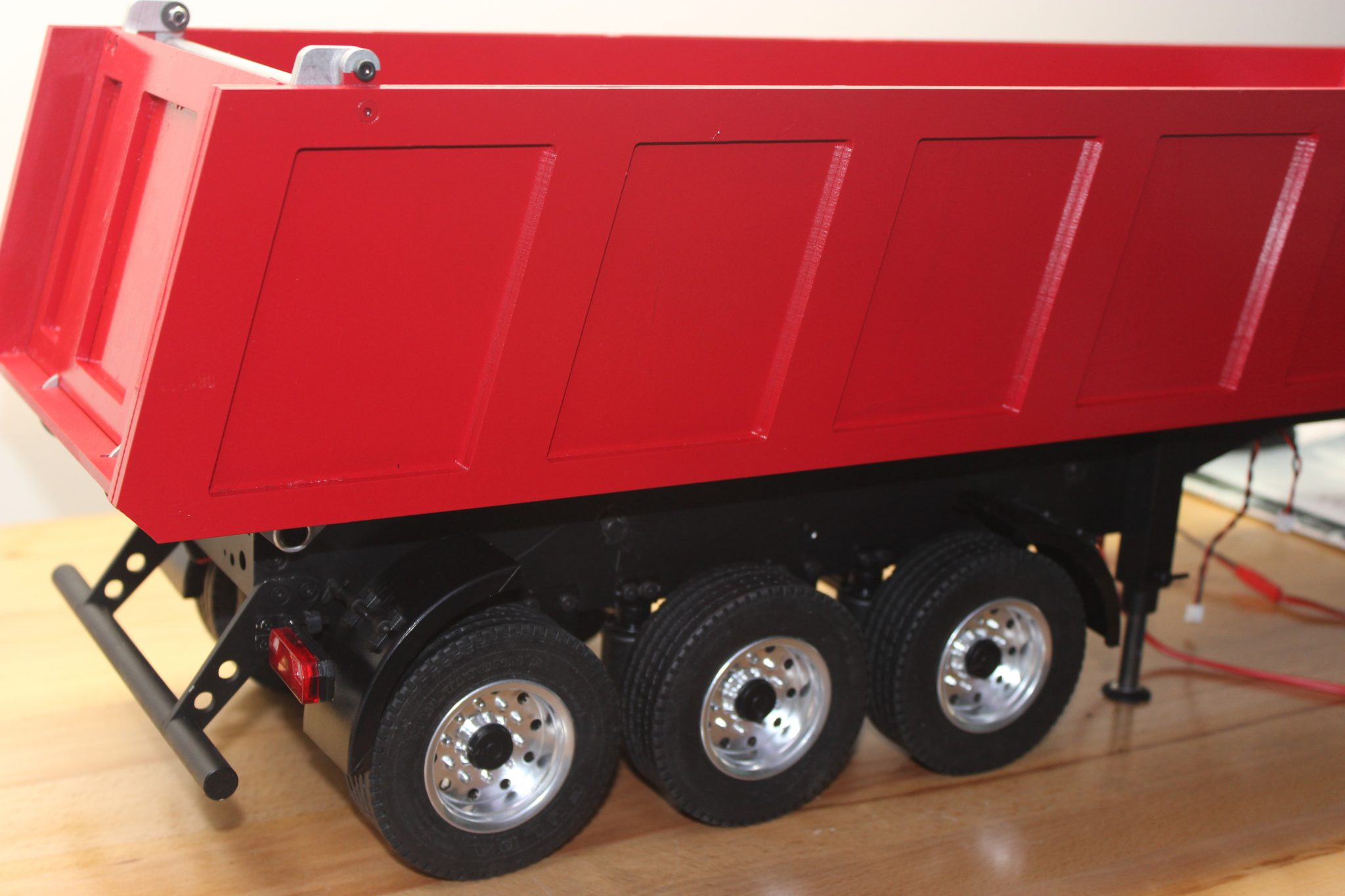 VCS Hobbies Custom Build 1/14 Carson 3 Axle Dumper