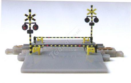 T Gauge Level Crossing Set 30mm