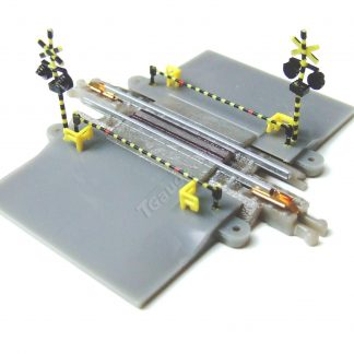 T gauge 30mm Level Crossing Set