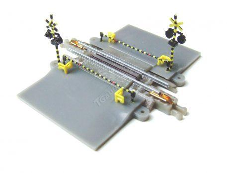 T gauge 30mm Level Crossing Set