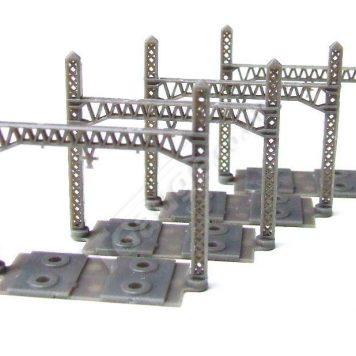 T Gauge A-004 Overhead Line for Double Track B