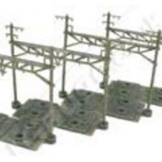 T Gauge A-003 Overhead Line for Double Track A