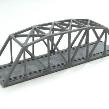 T Gauge Grey Truss Bridge