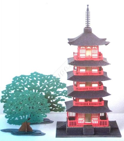 T Gauge B-015 Five Story Pagoda
