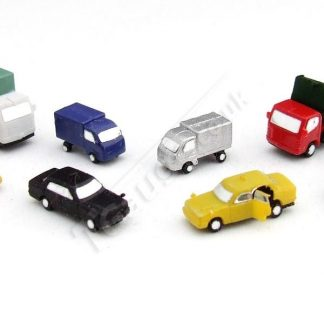 T Gauge CP-006 Painted Vehicles Set B