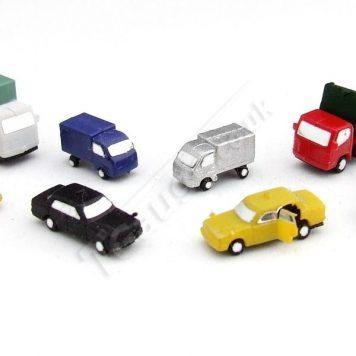 T Gauge CP-006 Painted Vehicles Set B