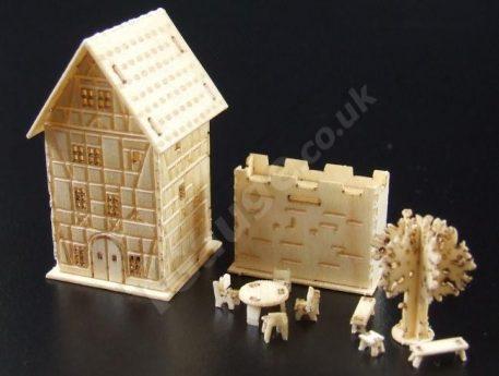 T Gauge B-078 Four Story House Kit