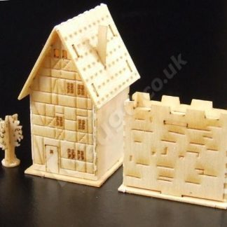 T Gauge B-079 Half Timbered House Kit