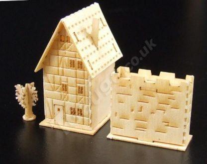 T Gauge B-079 Half Timbered House Kit