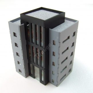 T Gauge B-102 Office Block Five Story Laser Cut Kit