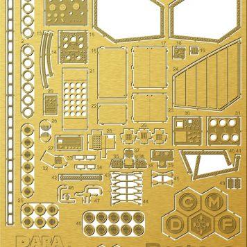Paragrafix PGX205 Proteus Photoetch Set