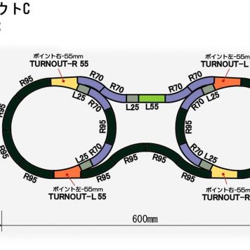 Rokuhan Z Scale Track Plan C