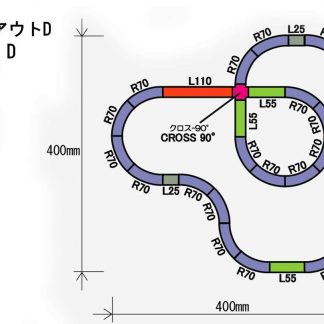 Rokuhan Z Scale Track Plan D