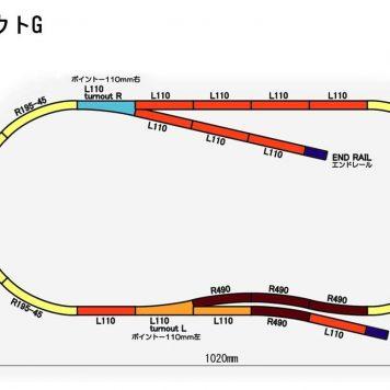 Rokuhan Track Plan G