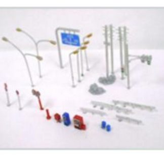 T Gauge Road Accessory Set