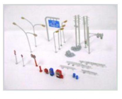 T Gauge Road Accessory Set