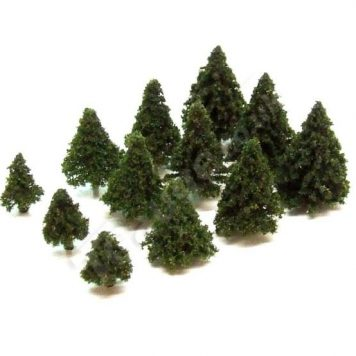 T Gauge A-102E Dark Green Fir Trees