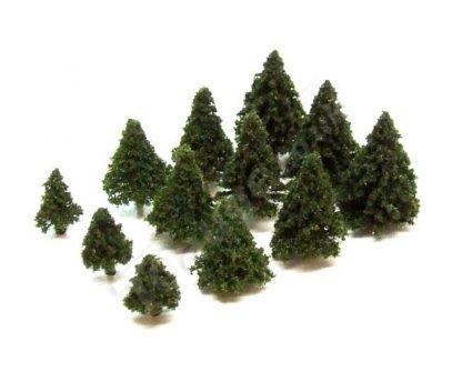 T Gauge A-102E Dark Green Fir Trees