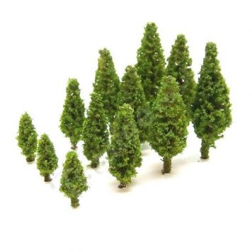T Gauge A-105H Light Green Poplar Trees