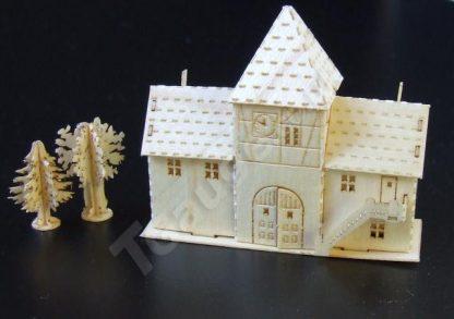 T Gauge Town Gate Building Kit B-076